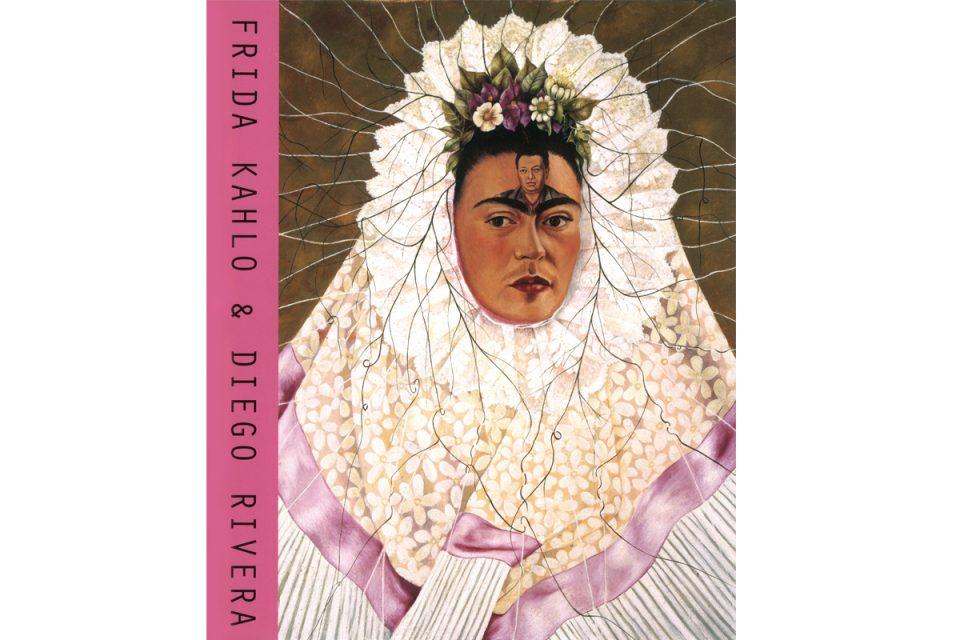 Bokomslag med självporträttmålning av Frida Kahlo