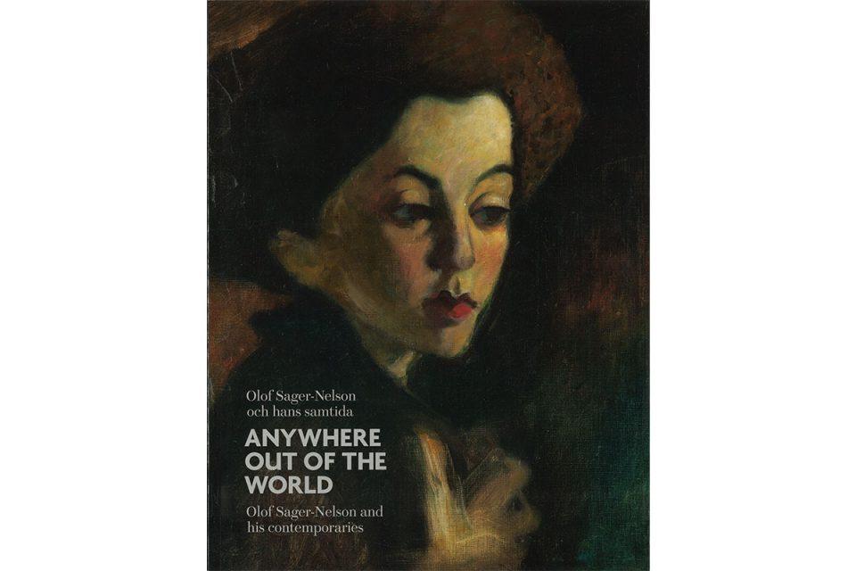 Bokomslag med porträtt av ung, androgyn person med röda läppar.