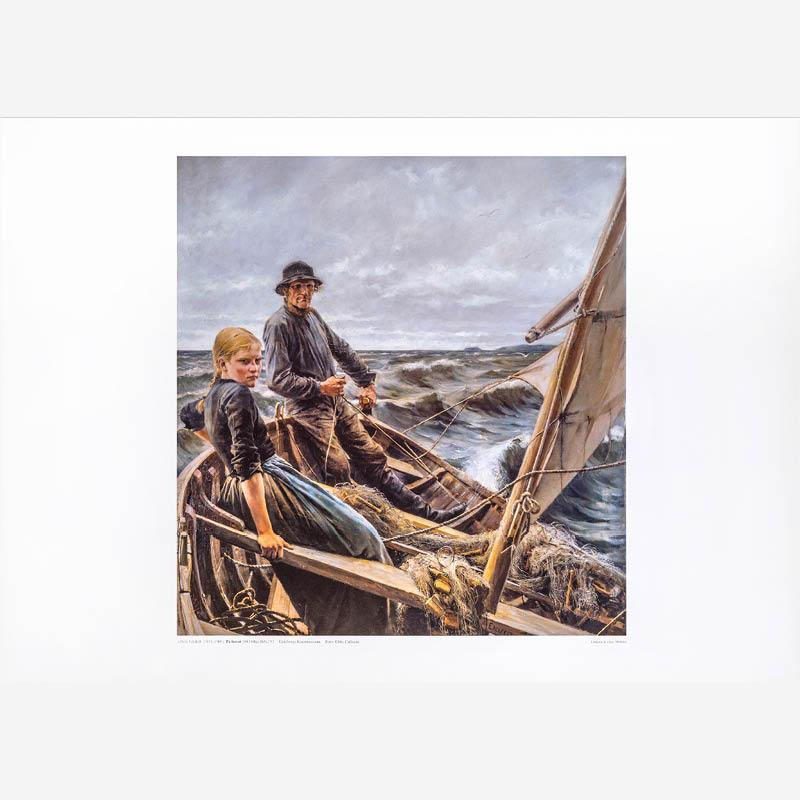 Albert Edelfelt, På havet
